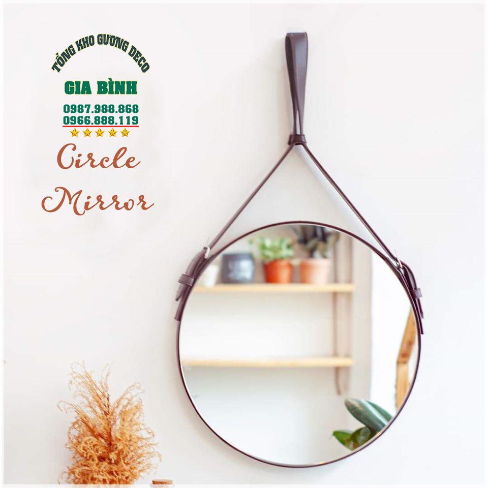 Cách lắp đặt gương treo tường thổi hồn không gian nội thất